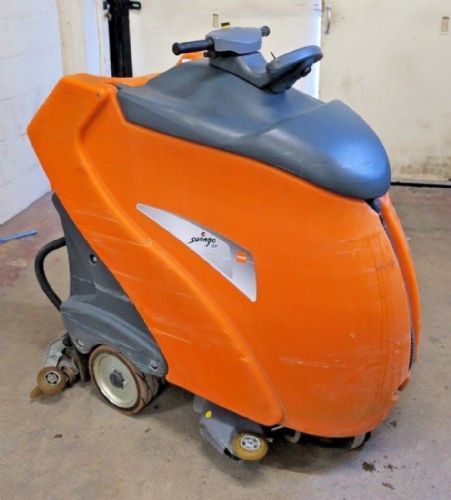 TASKI Swingo XP Step On Automatic Battery Operated Floor Cleaner Scrubber Drier